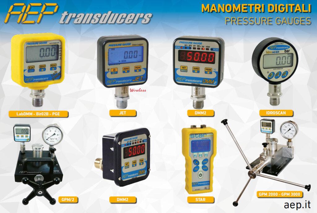 il manometro digitale