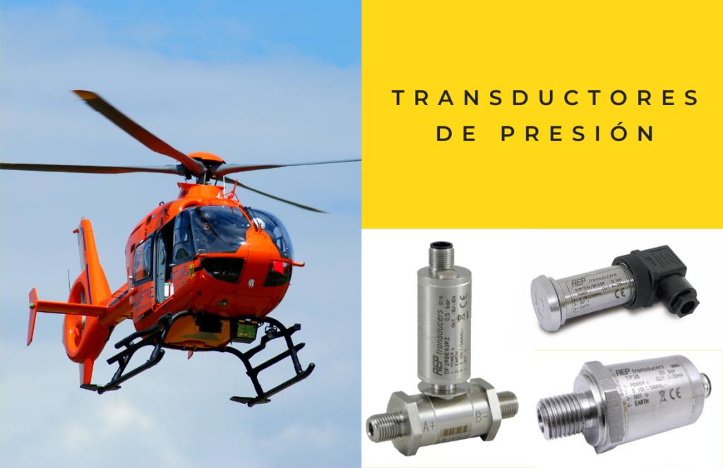 transductores de presión